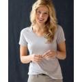 392A Anvil Ladies' Sheer V-Neck T-Shirt