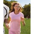 4934 Champion Ladies' 4.4 oz. Double Dry® Textured V-Neck T-Shirt