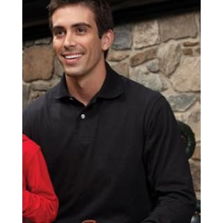 f819c3bff 437ML Jerzees 5.6 oz. 50/50 Long-Sleeve Jersey Polo with SpotShield™