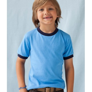 ce7bb6772 923B Anvil Youth Ringer T-Shirt